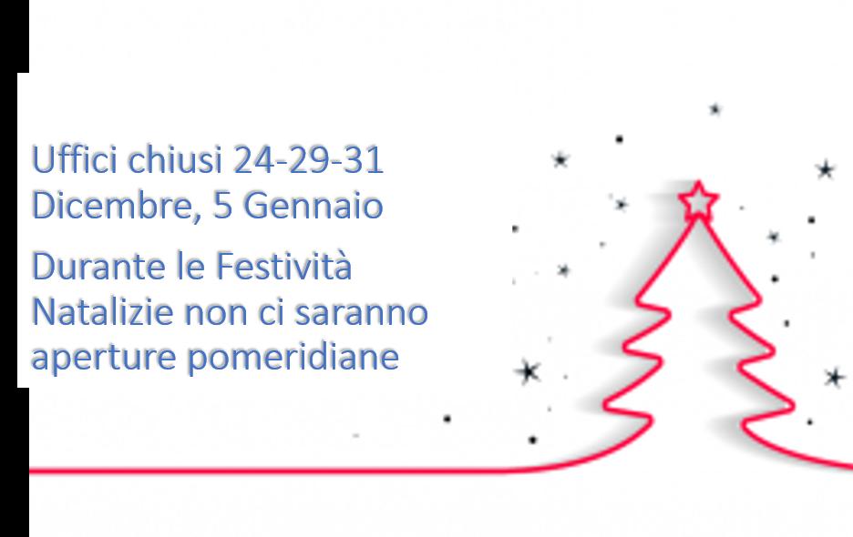 Chiusura Uffici Festivita Natalizie Www